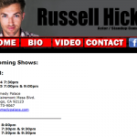 Russell Hicks Comedy